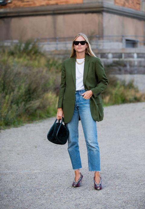 джинсы стиль