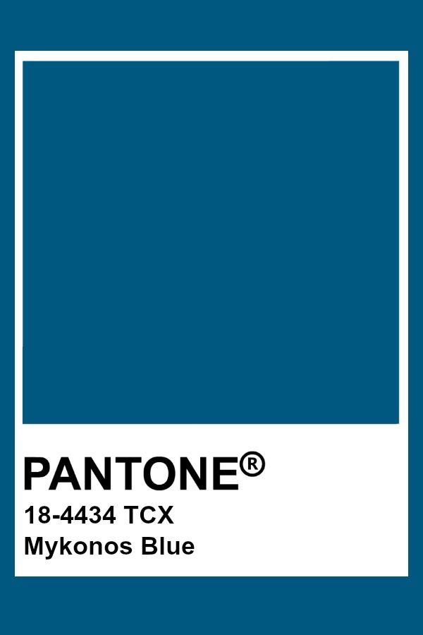 синий миконос цвет